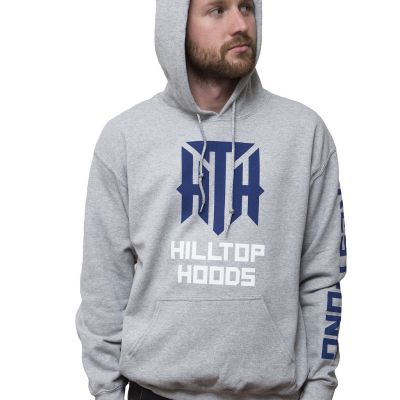 Restrung Tour Grey Pullover Hoodie