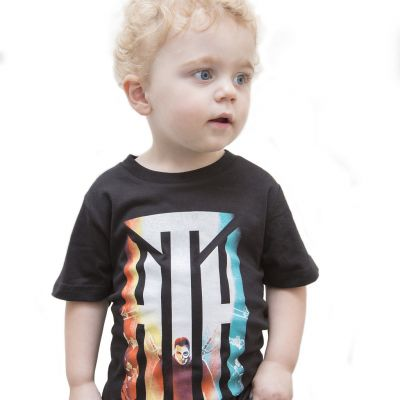 Album Kids Black Tshirt