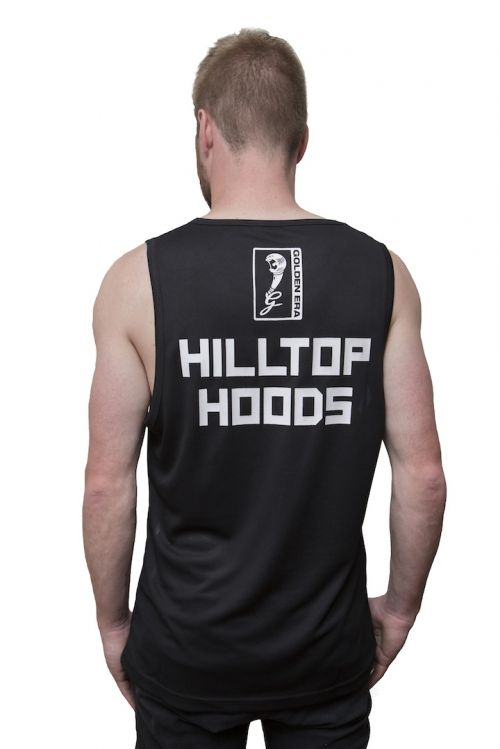 Sublimated Album Basketball Jersey by Hilltop Hoods