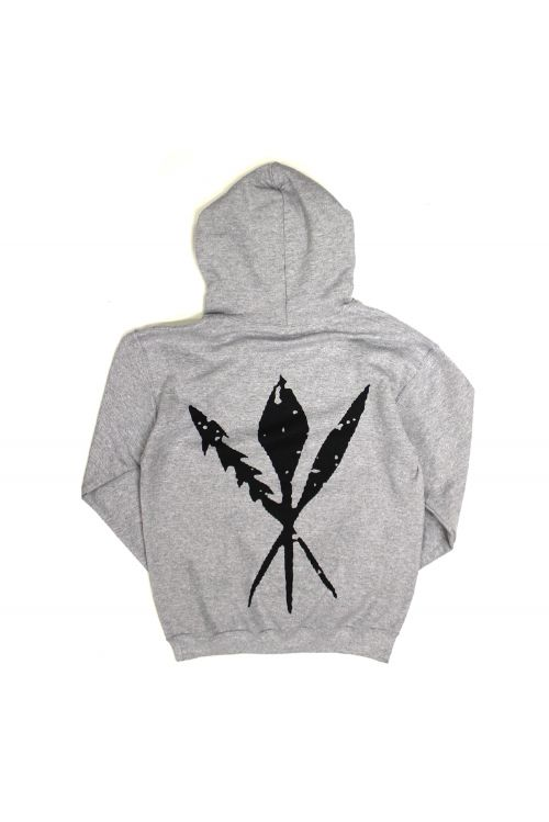 Pocket Logo Grey Hoodie by A.B. Original
